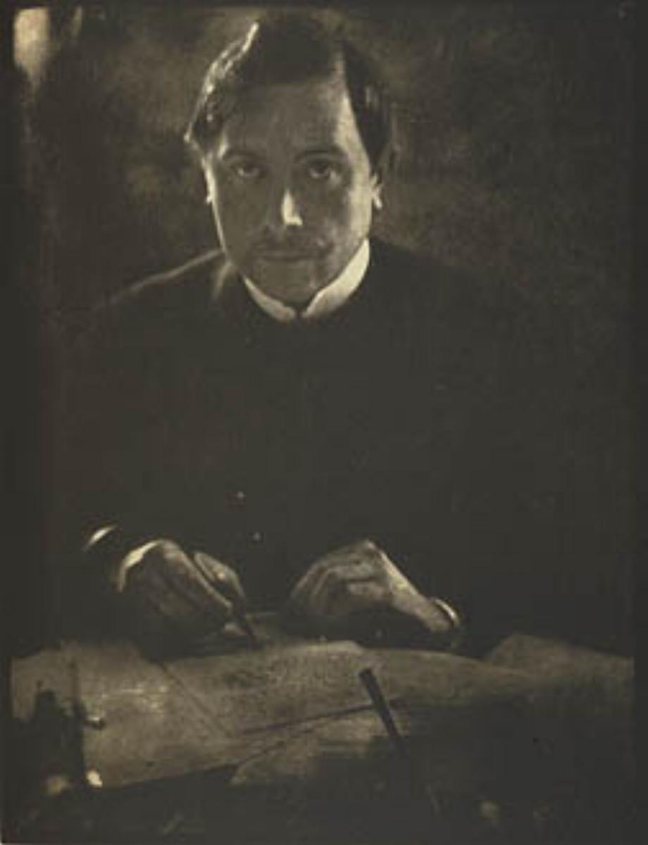"""Edward Steichen, MAETERLINCK, 1906 [Camera Work Steichen Supplement], halftone, 8"""" x 6"""""""