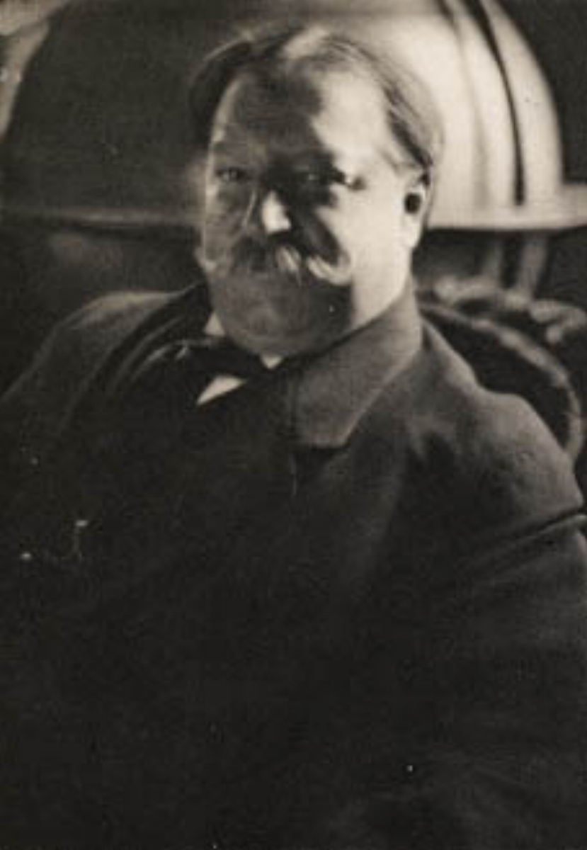 "Edward Steichen, HENRY W. TAFT (WILLIAM HOWARD TAFT), 1913 [Camera Work XLII/XLIII], photogravure, 7.5"" x 5"""