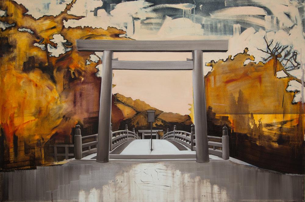 5 Orange Hills, oil on canvas, 125x187cm.jpg