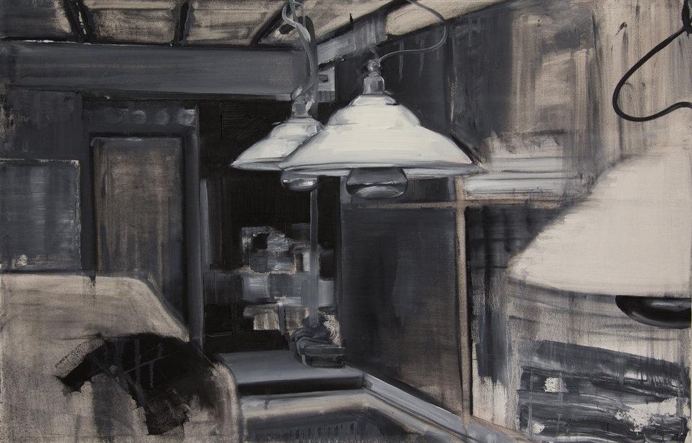 12 Lamps, oil on canvas, 74x115cm.jpg