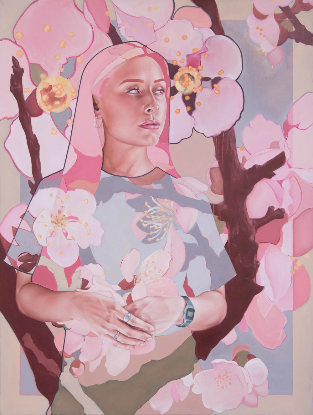 'Lady and the Cherry Blossoms' - 20 prints155 euro each (not including postage)53x40cmIf interested, get in touch with me through the 'contact' page on this website or email me at berkeryshane@gmail.comThanks :)