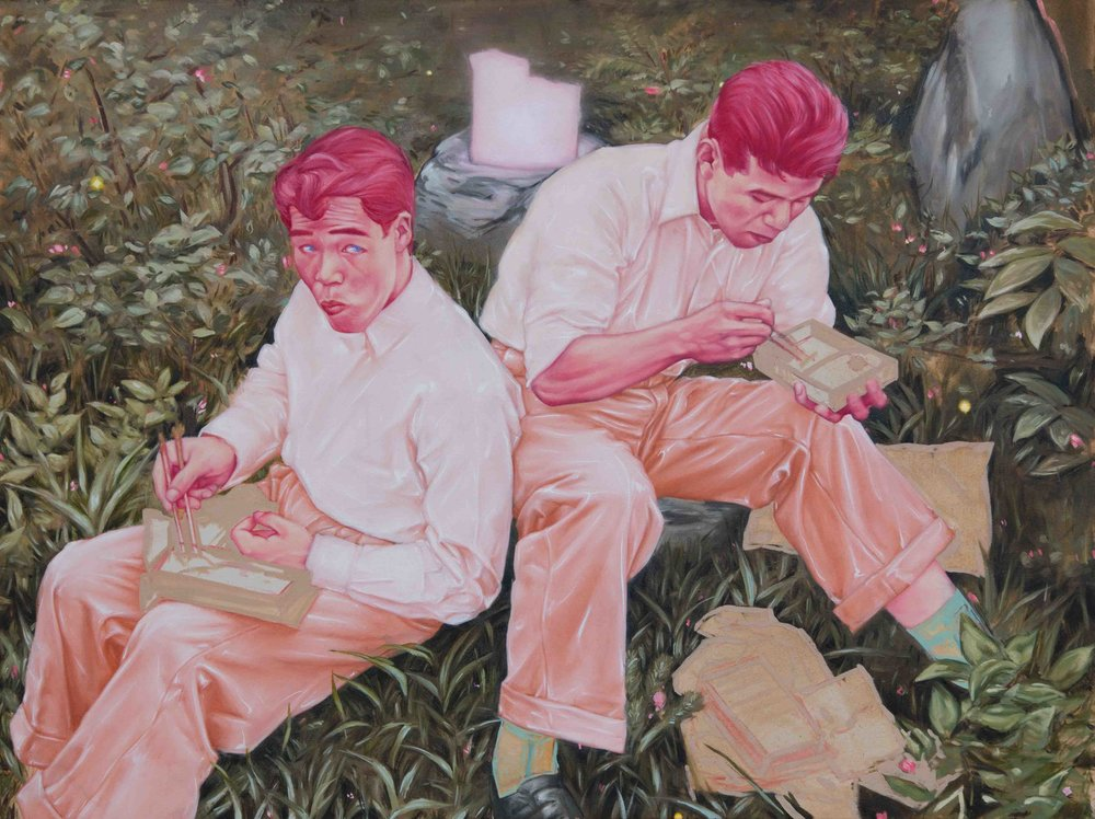 Lunch in the Meadow 70x95cm.jpg