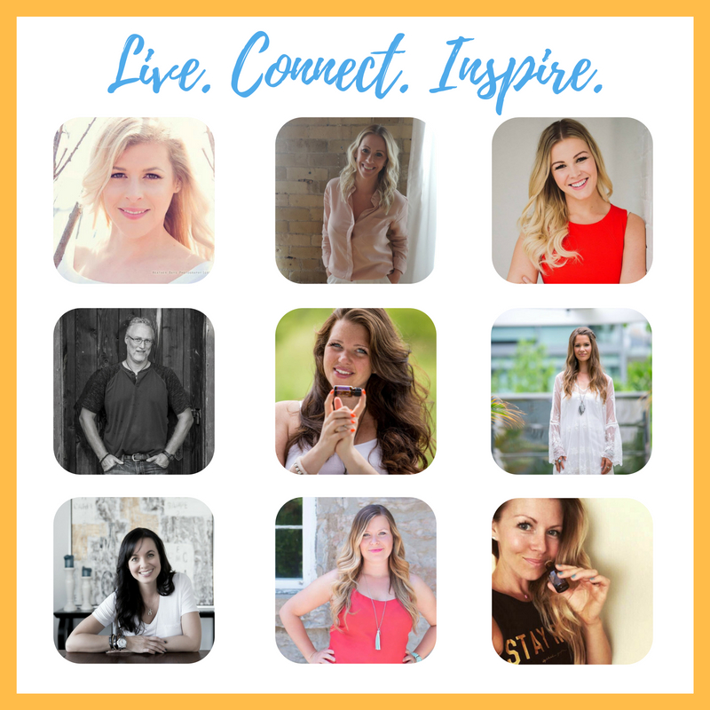 Live. Connect. Inspire.LiveStream Events - We have created 3 separate LiveStream events JAM PACKED with value to support and empower you in building your doTERRA business. These speakers range from Gold to Presidential Diamonds.Each event is $20 (CAN, Taxes included) or attend all 3 LiveStreams for $45 (CAN, Taxes included). This saves you money, allows you to hear from all 9 speakers AND regardless of which option you choose 100% is donated to Days for Girls projects.Digital Download now available!