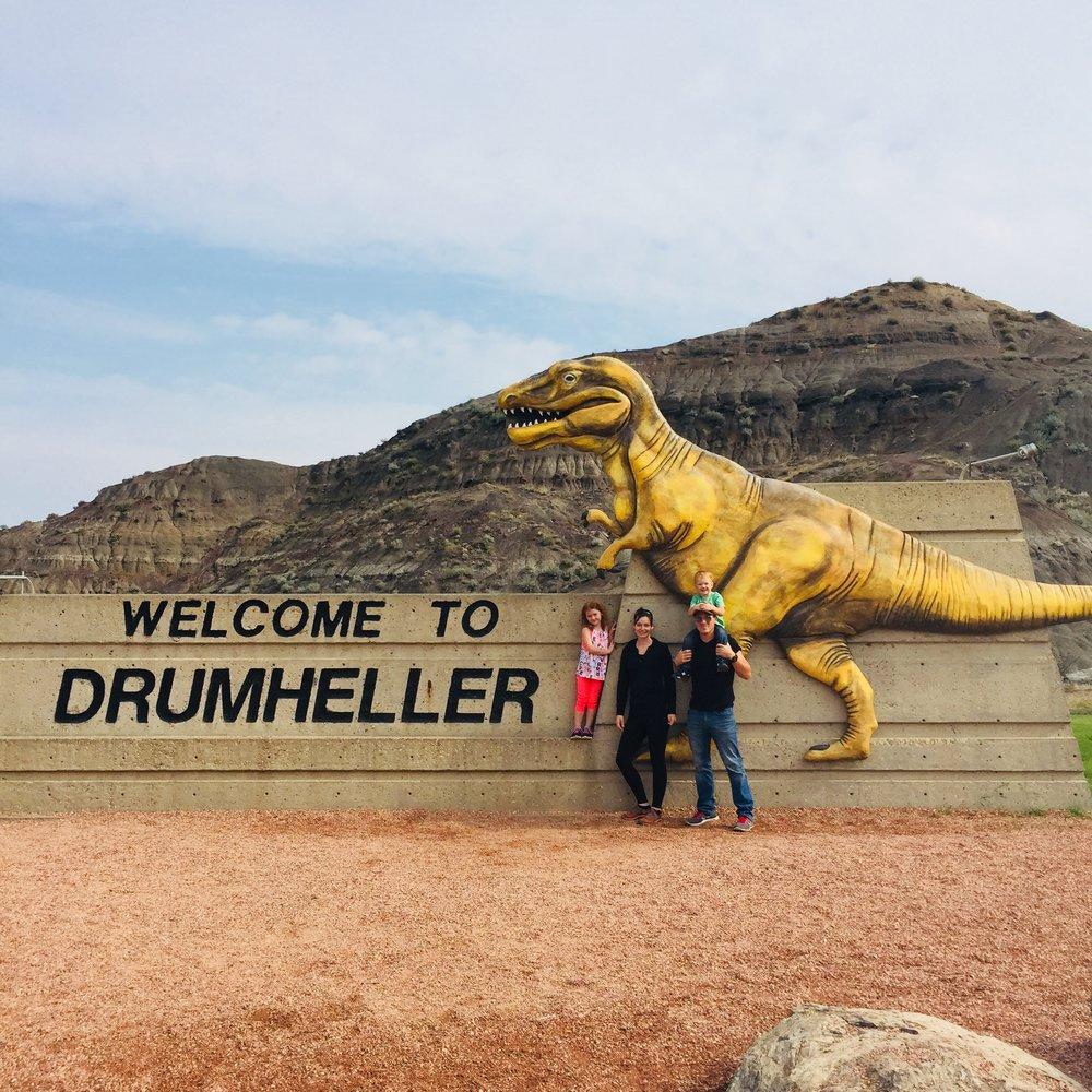 Drumheller Sign: -