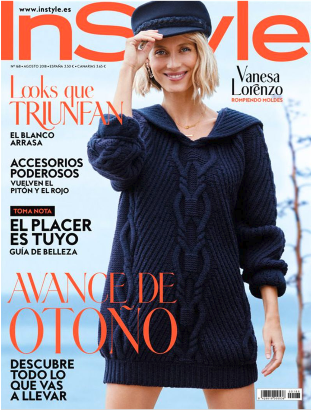Vanesa Lorenzo for InStyle magazine.