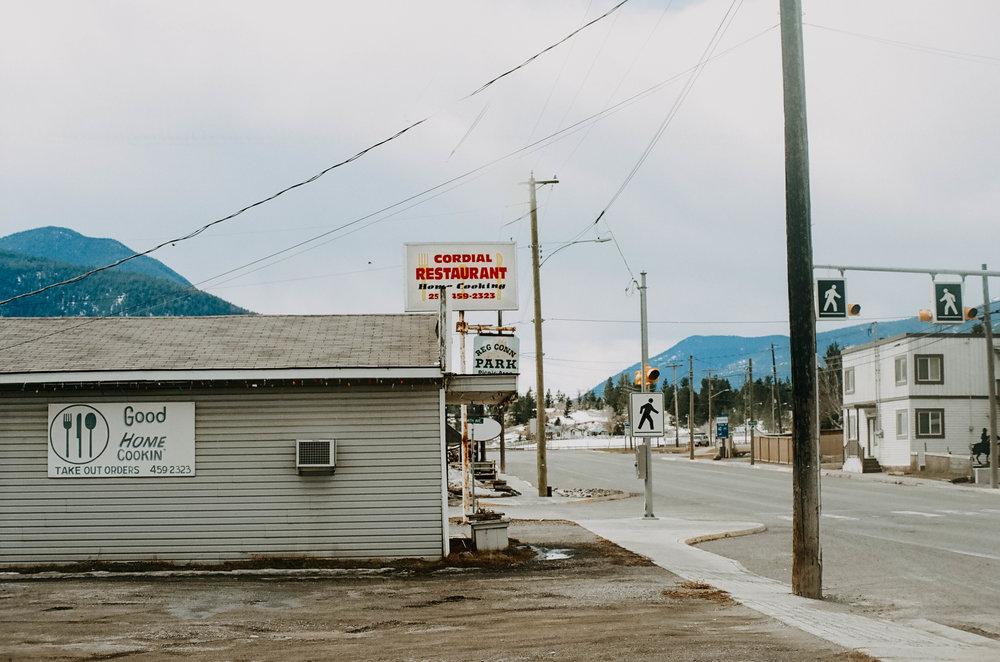 Burns Lake pit stop