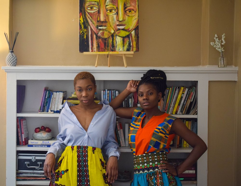 Zarkpa's Creative Director       Monique Pour (Left)       & CEO       Tracy Garley (Right)