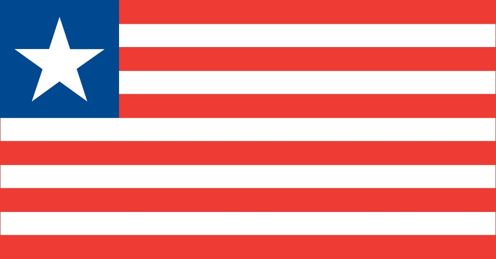 The Flag of The Republic of Liberia
