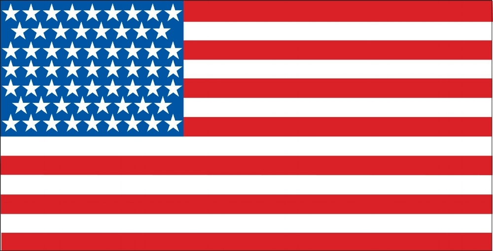 The Flag of the United Stated of America.