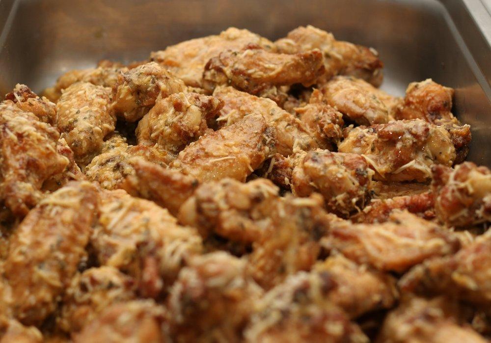 Ginche' Garlic Parmesan Wings