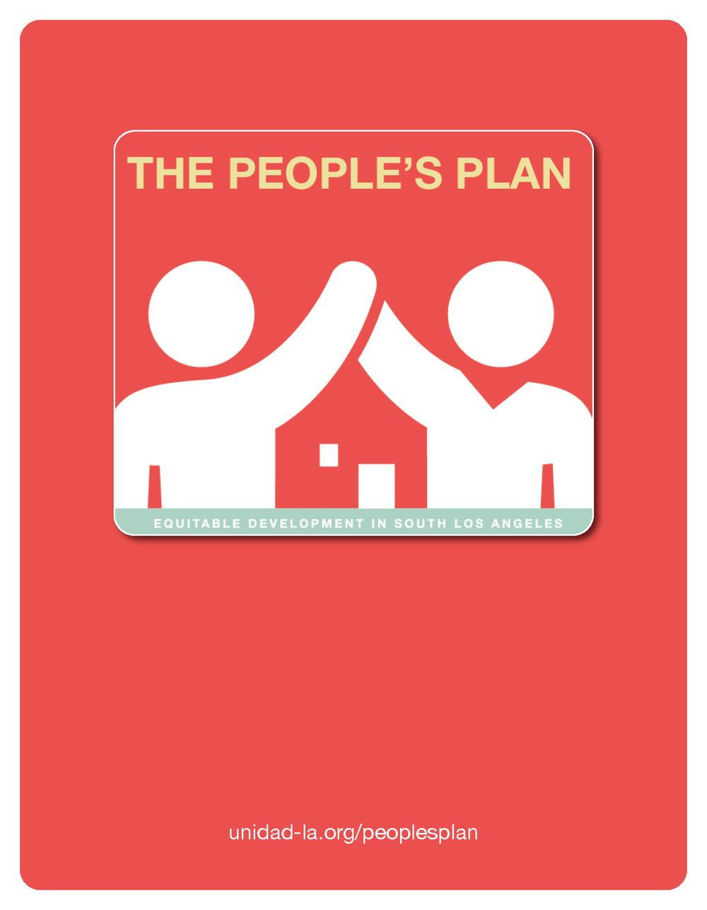 UNIDAD's People's Plan -