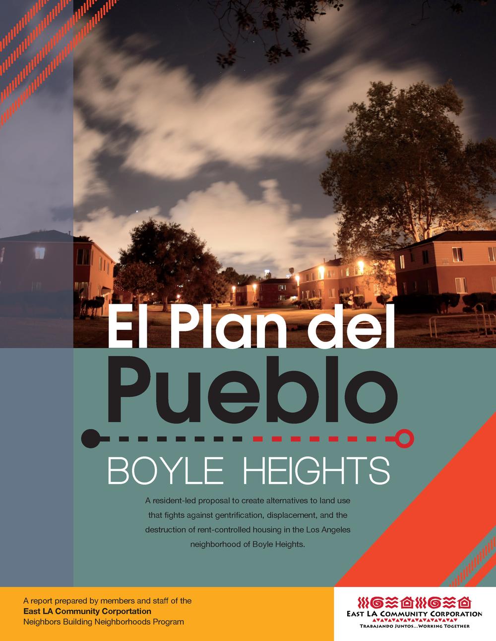ELACC's El Plan del Pueblo -
