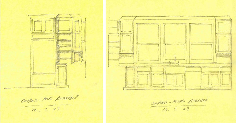Schematic Design Sketches by Marvin Clawson