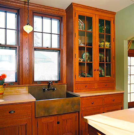 "Kitchen Counters   are 36"" high. Counter depth is 24"" + 1"" overhang for a total of 25""."