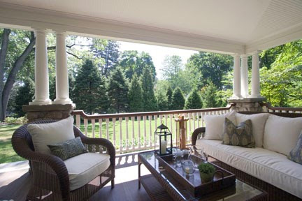 Nothing is more chaming than than the Period Home with the wrap around front porch.