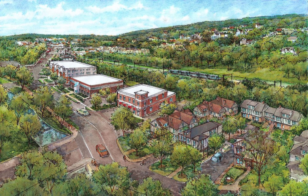 Proposed Townhouse Development- 19 Variances sought and approved.