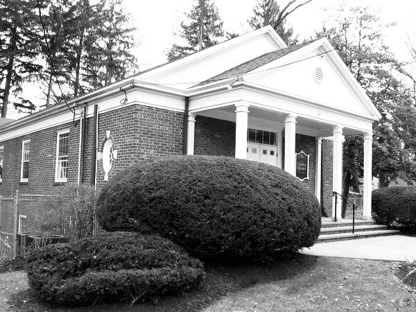 Before image of front elevation and entrance.
