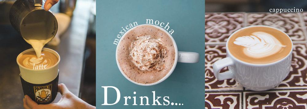 Pannikin La Jolla coffee, lattes, cappucinos