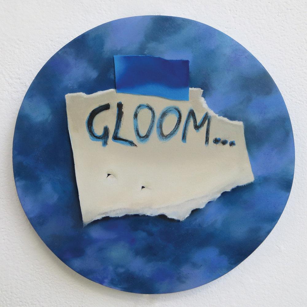 GLOOM II,  oil on canvas, 2015