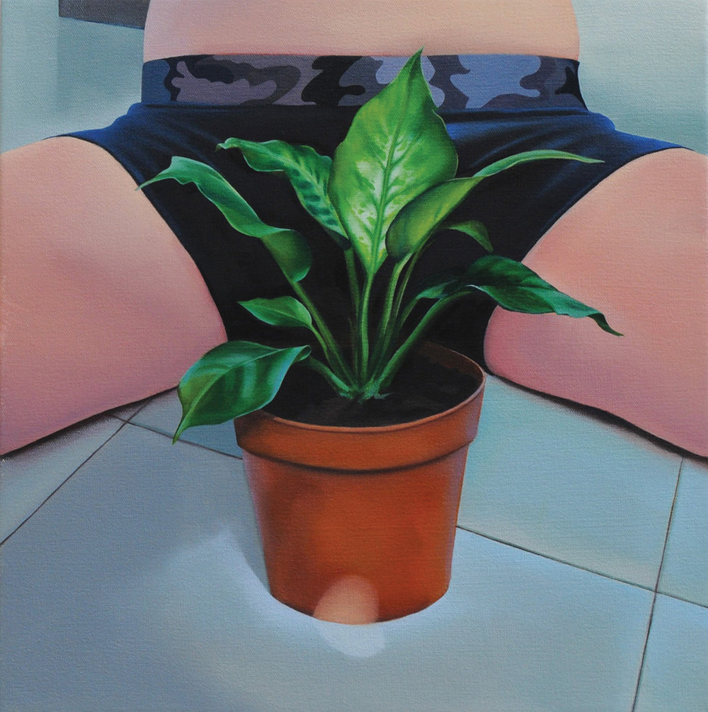 Stealth,  oil on canvas, 2014