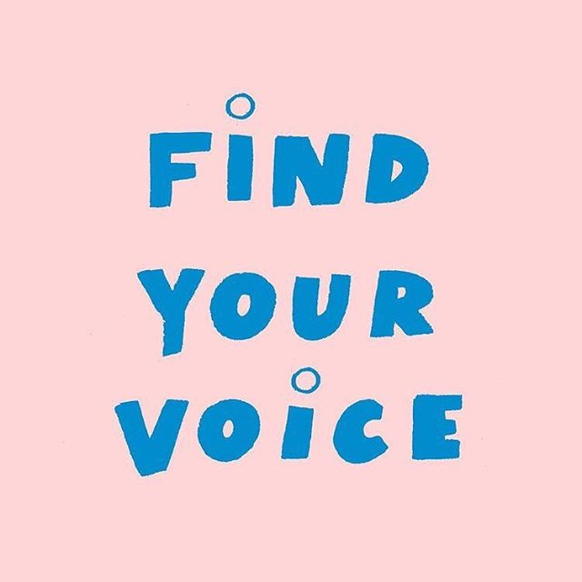 we crave to be original, but often find ourselves trying to look + sound like others. 📣 YOUR VOICE MATTERS! you have something to offer the world that only YOU can give! find your voice, protect it + for goodness sake, USE IT!👍🏾💙