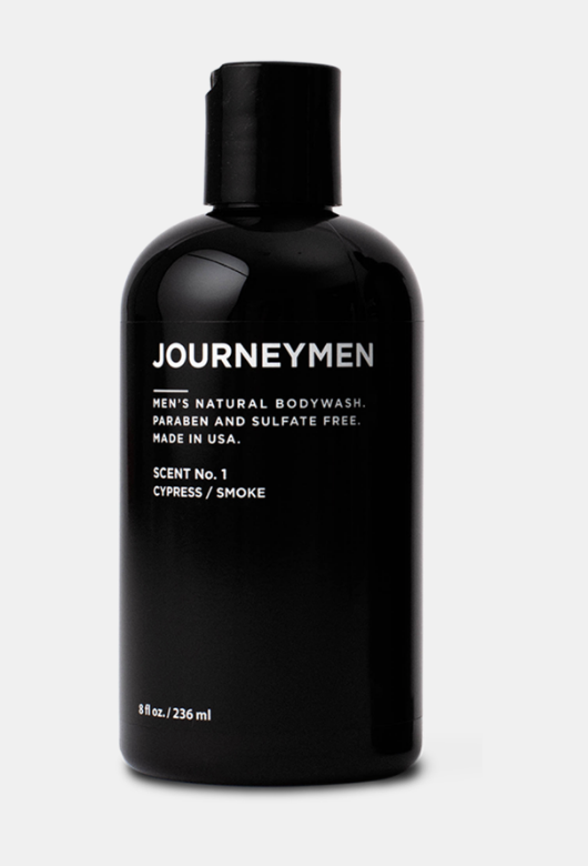Journeymen Men's Natural Body Wash
