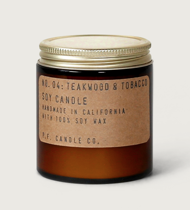 PF Candle Co Teak & Tabaco Candle