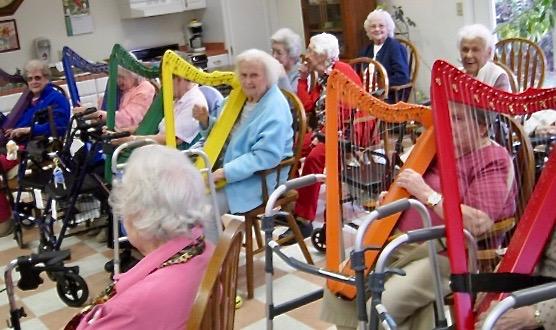 Elder care center in Coronado, California.