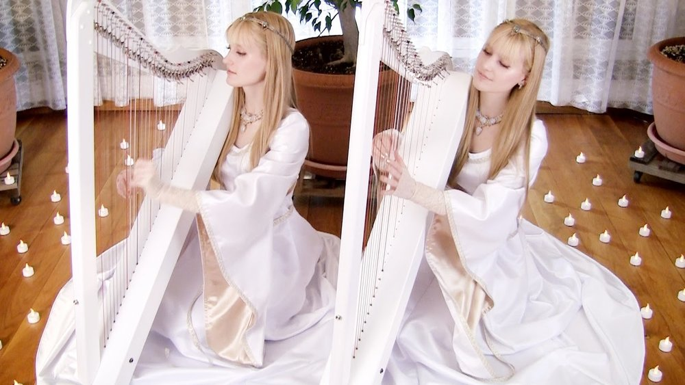 The Harp Twins, Camille & Kennerly - USA