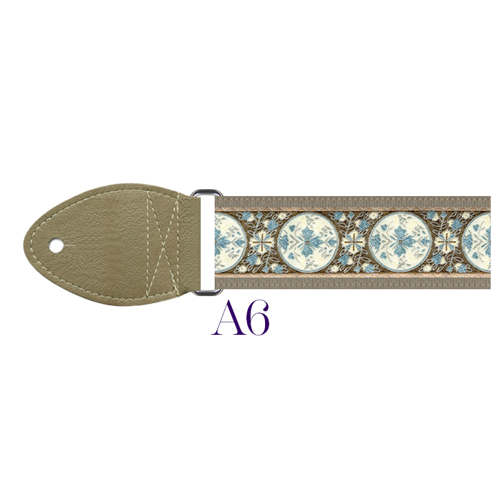 A6 - Medallion Harp Strap (taupe)