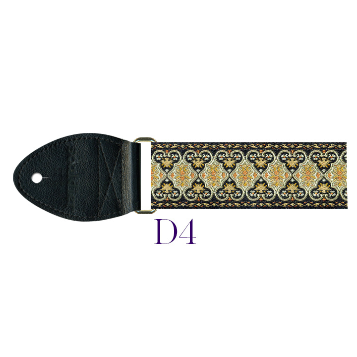 D4 - Persian Harp Strap (gold)