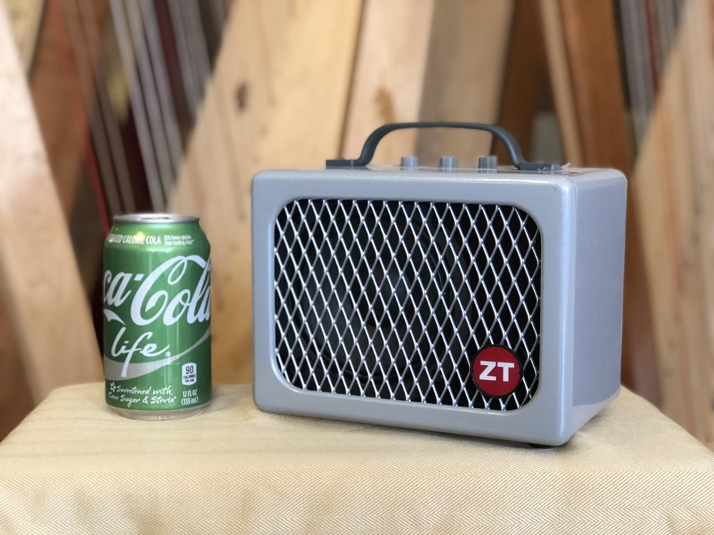ZT Lunchbox Junior Amp size comparison