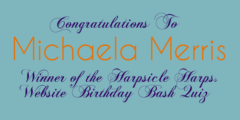 Michaela's winning submission came in at 8:1 1PM (ET US) on 10 August 2018.