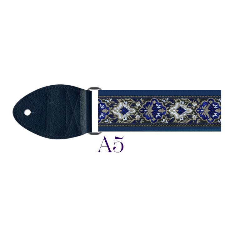 A5 - Cabernet Harp Strap (blue)
