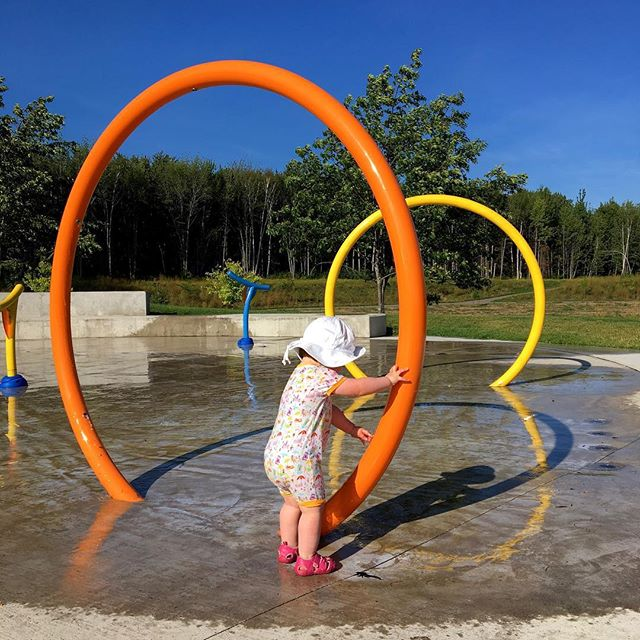Get away from me with your pumpkin spice lattes and cozy sweaters. I'm too busy gorging on endless summer with my 18month old homie.  #splashpark #18monthsold #summerforever #explorenb #moncton #alldayoutside #playtime #elodarling #birdiegirl #monctonphotographer #monctonphotography #carophoto #carophotofamily #monctonfamilyphotographer #familyphotography #familyphotographymoncton #letthembelittle #reallifeportraits #realportraitsoffunpeople #candidchildhood #childhood #childhoodunplugged #kids #kidsbeingkids #dayinthelife #documentyourdays