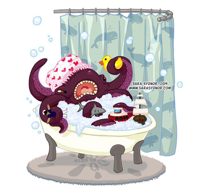 Bathtub Kraken