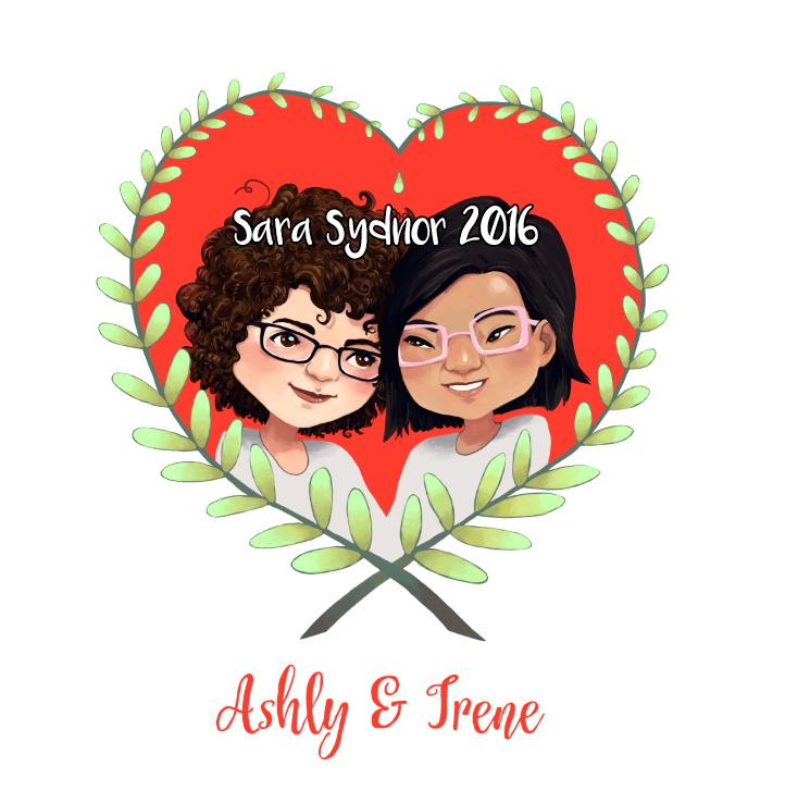 Ashly & Irene wedding gift