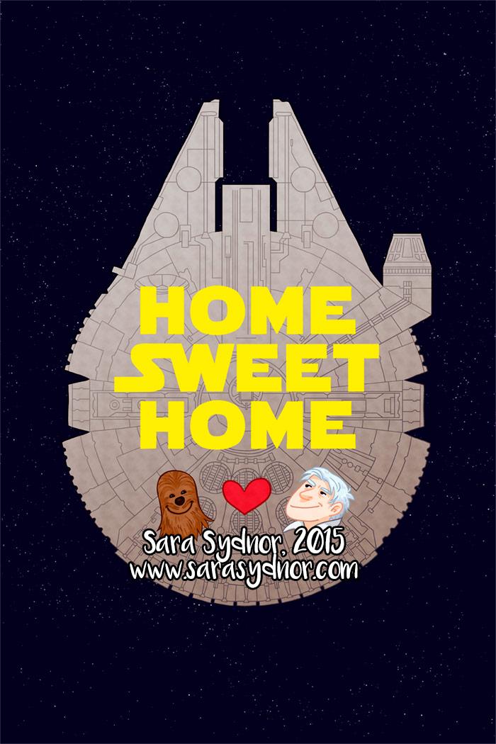 Star Wars Home Sweet Home
