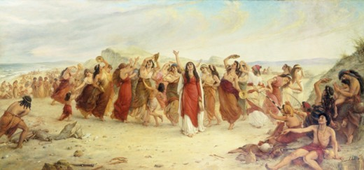 Song of Miriam, by William Gale