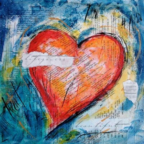 Heart Wonder 1 by Laurie Pace