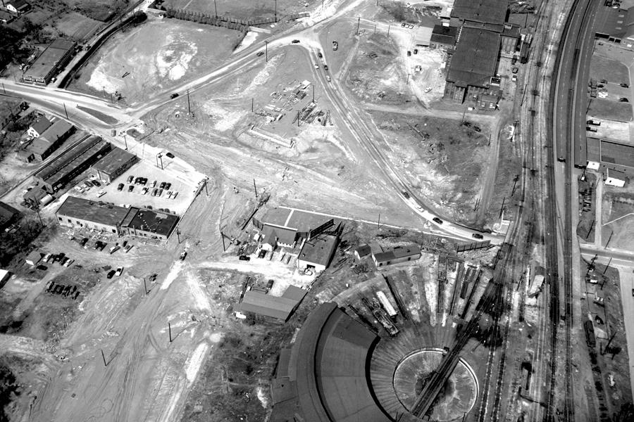Devereux Meadows Half Roundhouse, 1952