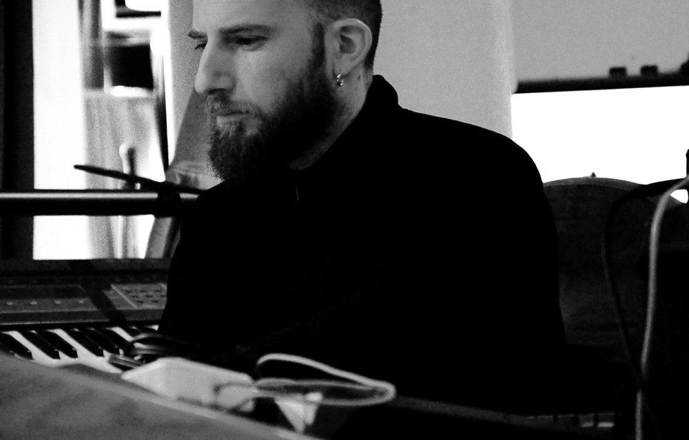 Studio manager ad sound engineer Matan Benzvi