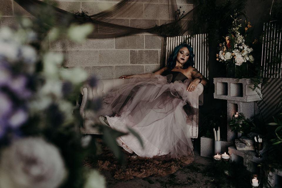 Garnet Dahlia Photography