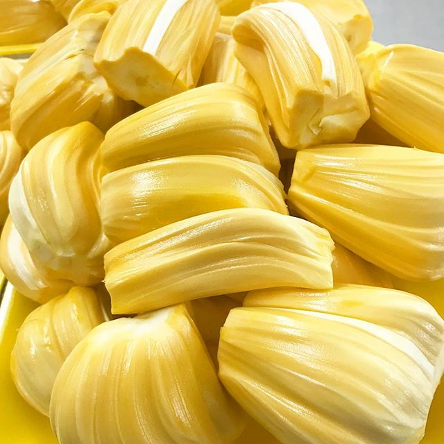 JACKFRUIT Back by popular demand. Grab a pack before they run out! — #jackfruit  #langka #mít #exoticfruit