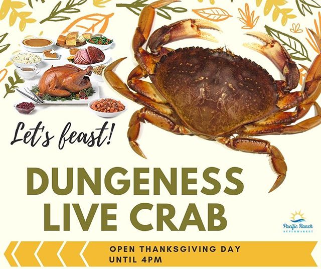 Who needs turkey?  #dungenesscrab #livecrab #happythanksgiving