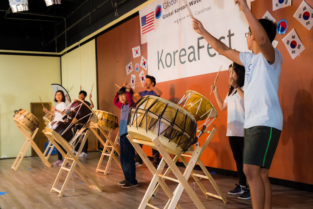 Korean Drumming -