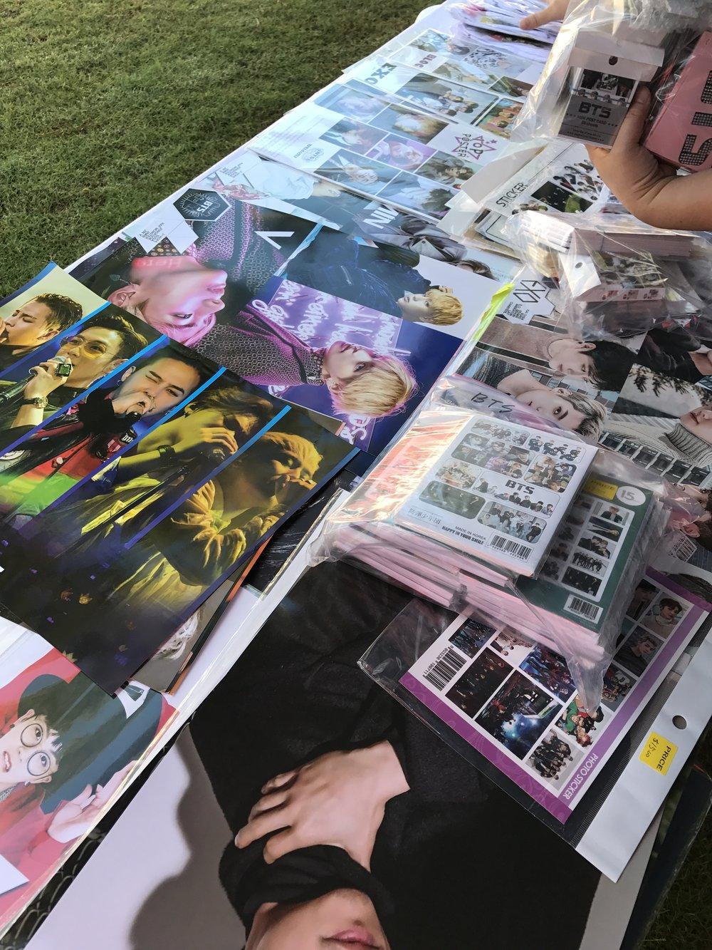 K-Pop Merchandise -