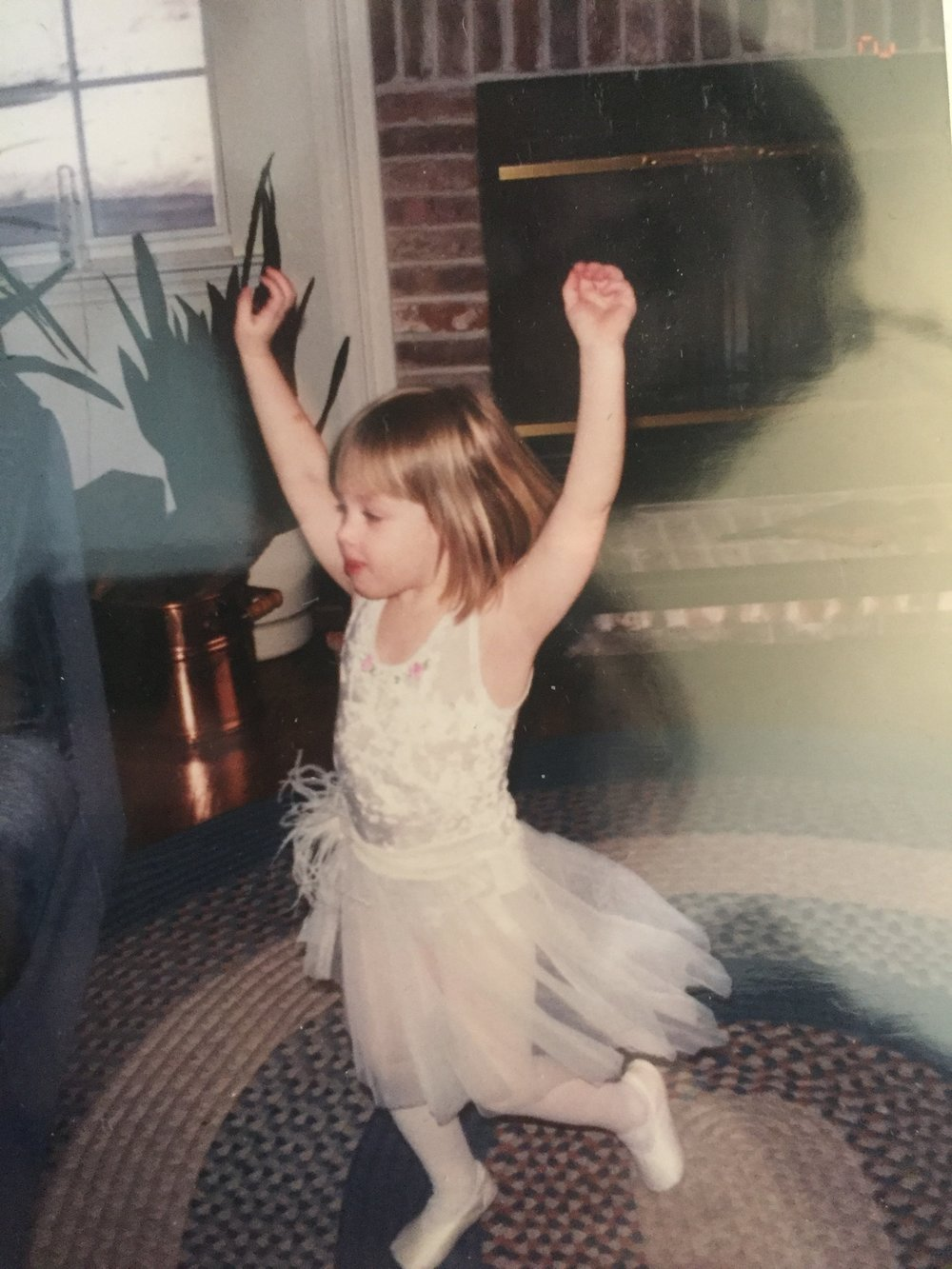 Me as a child, looking very much like me as an adult this weekend: free.