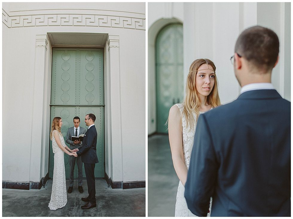 Elopement Photography | Los Angeles, CA | The Griffith Observatory | Jessie Caballero Wedding Photographer