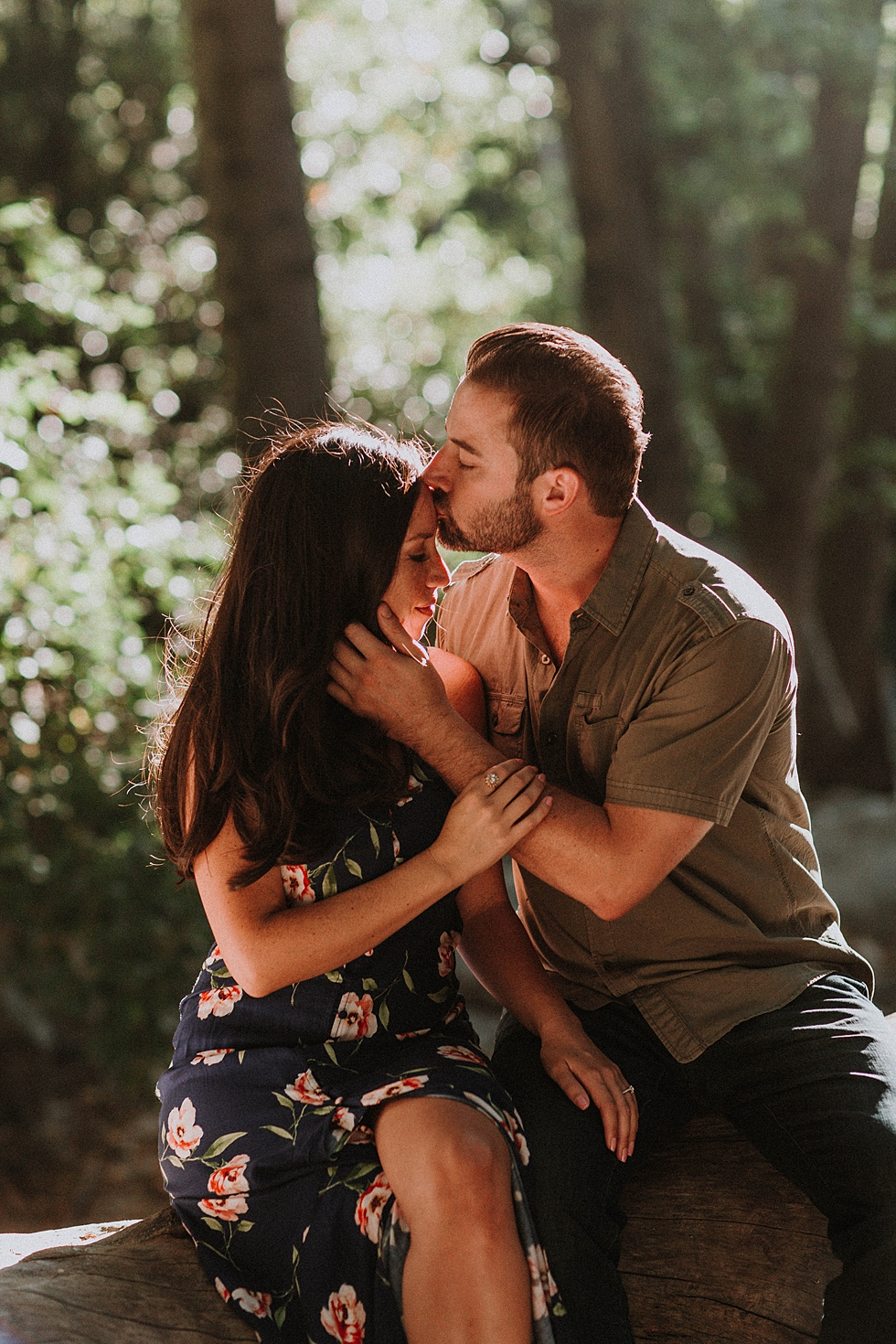 Switzer Falls Engagement Photography